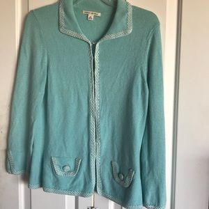 Banana Republic Green Cardigan